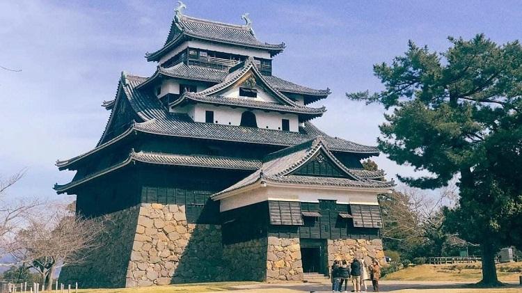 Lâu đài Matsue - Lâu đài đẹp ở Nhật Bản