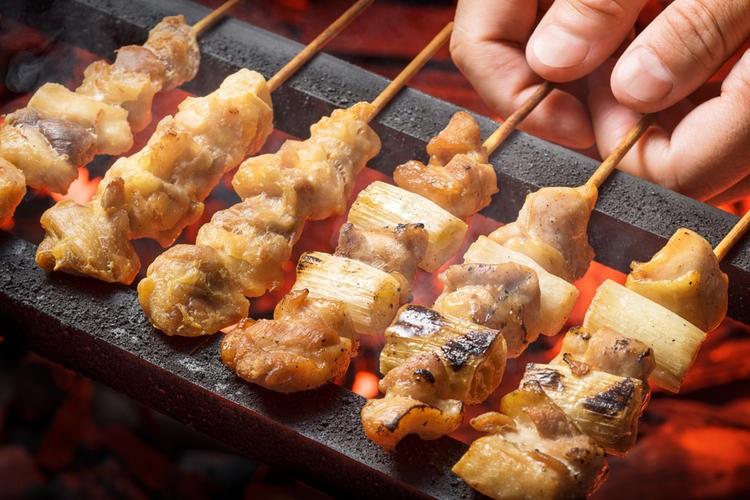 Món ăn đường phố Nhật Bản Yakitori