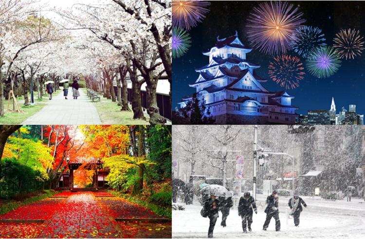 4 mùa ở Nhật Bản