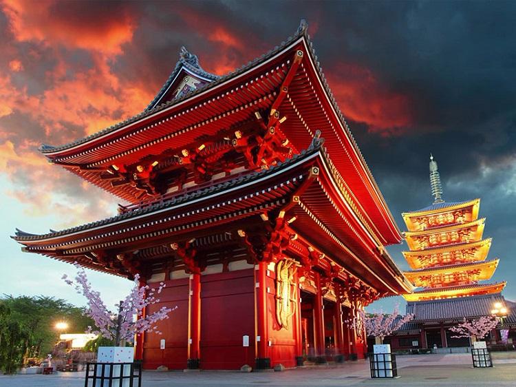 Chùa Sensoji Nhật Bản