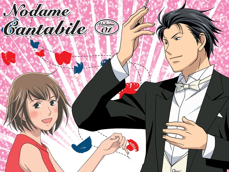 Những manga tình cảm hay nhất Nodame Cantabile