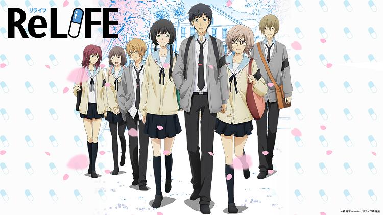 ReLIFE là một trong những manga tình cảm hay nhất