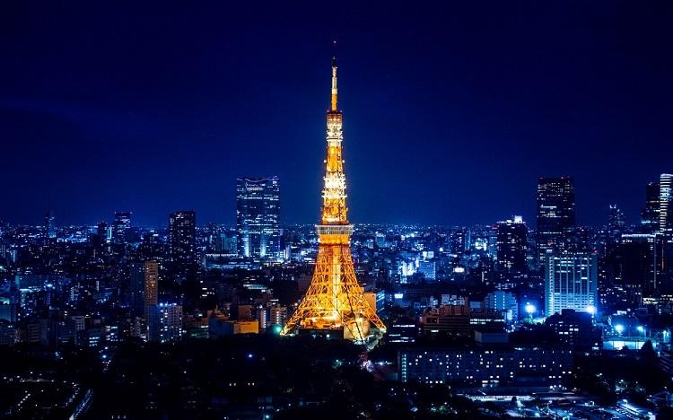 Những địa điểm nổi tiếng ở tokyo - Tháp Tokyo
