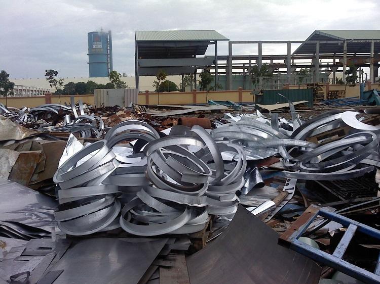 Thủ tục xuất khẩu thép phế liệu