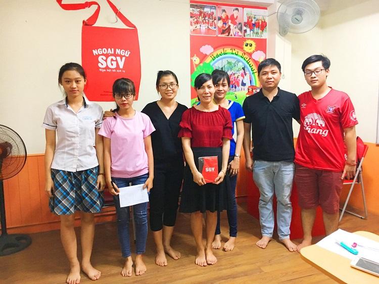 Trung tâm tiếng Hàn SaiGon Vina - trung tâm dạy tiếng Hàn tại TPHCM
