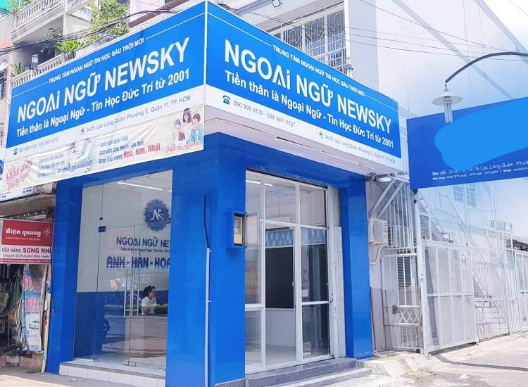 Trung Tâm Ngoại Ngữ NewSky - trung tâm tiếng trung TPHCM