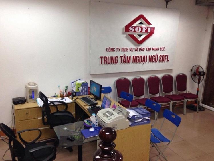 Trung tâm tiếng Hoa SOFL - trung tâm tiếng Trung TPHCM